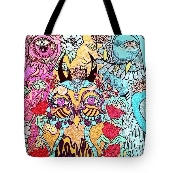 Gypsy Owl Tote Bag