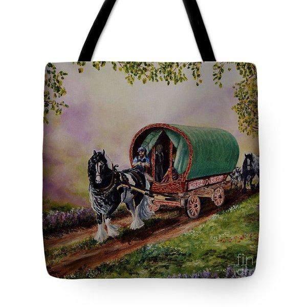 Gypsy Road Tote Bag