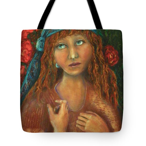 Gypsy Tote Bag by Terry Honstead