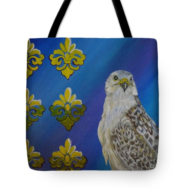 Gyr Falcon Tote Bag by Isabel Proffit