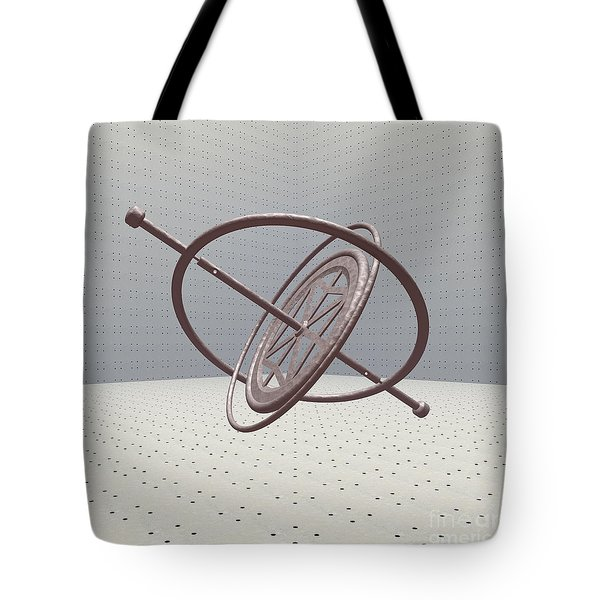 Gyroscope Tote Bag