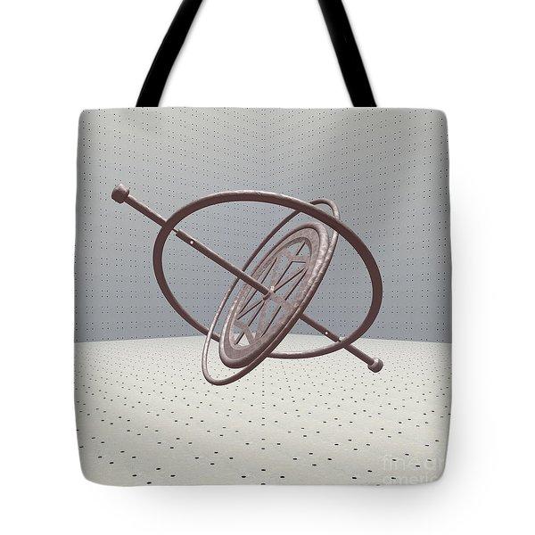 Gyroscope Tote Bag