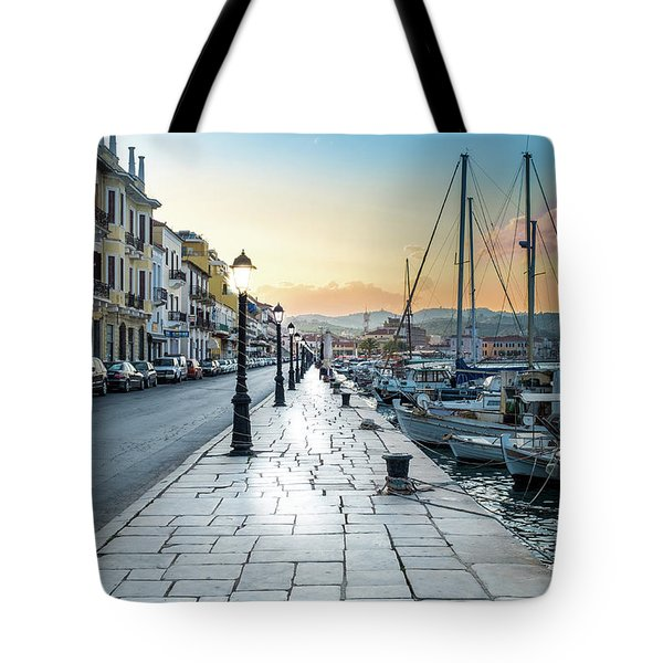 Gythion / Greece Tote Bag by Stavros Argyropoulos