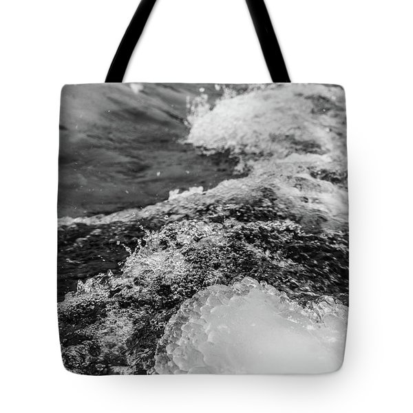Tote Bag featuring the photograph H2O by Alex Lapidus