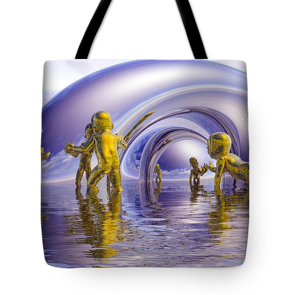 H2O Tote Bag by Robby Donaghey