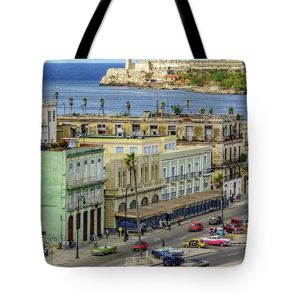 Tote Bag featuring the photograph Habana Havana  by Steven Sparks