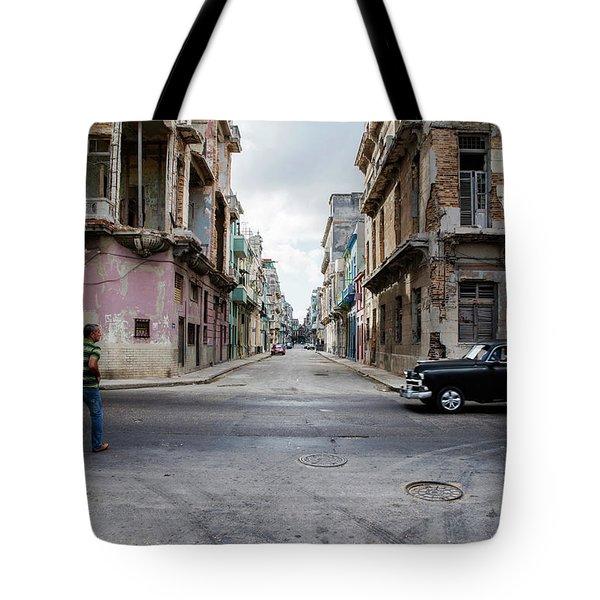 Habana Vieja Horizon Tote Bag