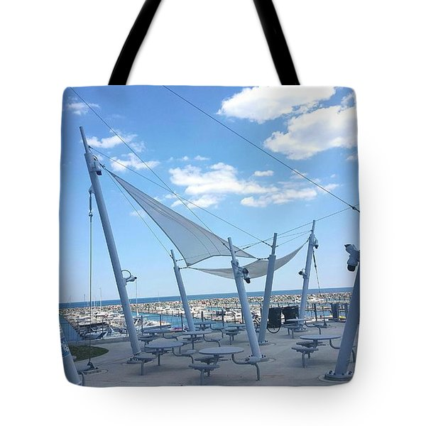 Habor View Tote Bag