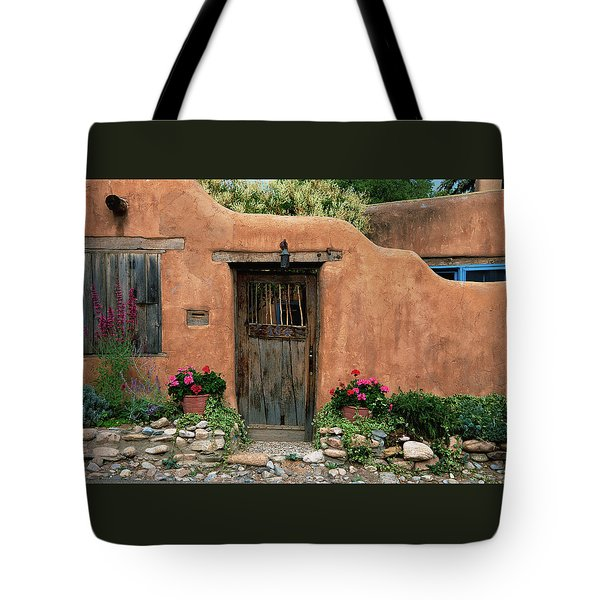 Hacienda Santa Fe Tote Bag
