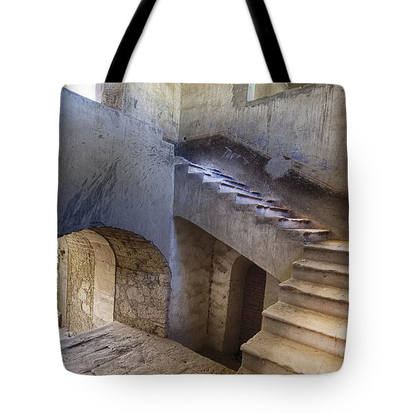 Hacienda Stairs Tote Bag