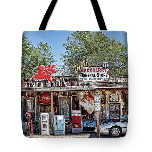 Hackberry General Store On Route 66, Arizona Tote Bag