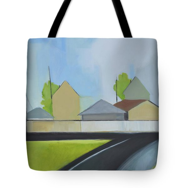 Hackensack Exit Tote Bag by Ron Erickson