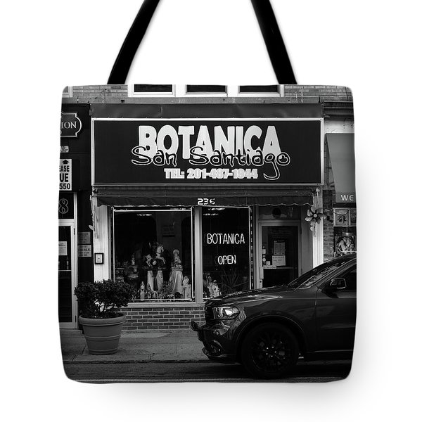Hackensack, Nj -  Botanica Bw 2018 Tote Bag