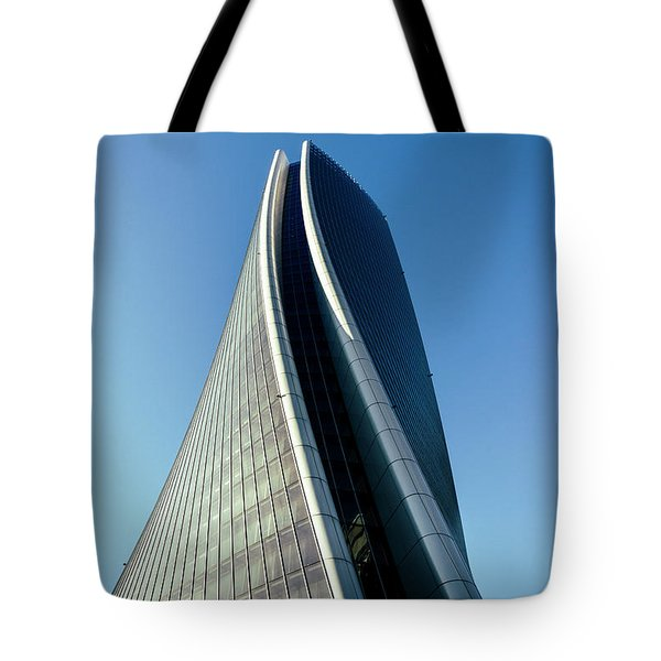 Hadid Tower, Milan, Italy Tote Bag
