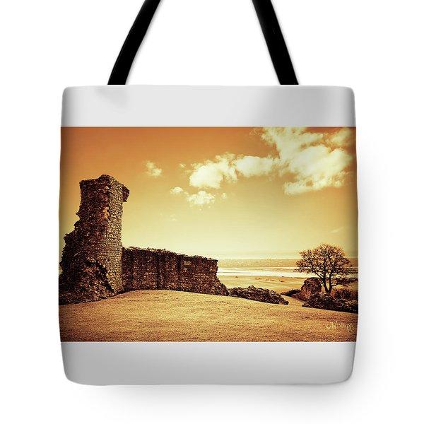Hadleigh Castle Tote Bag by Joseph Westrupp