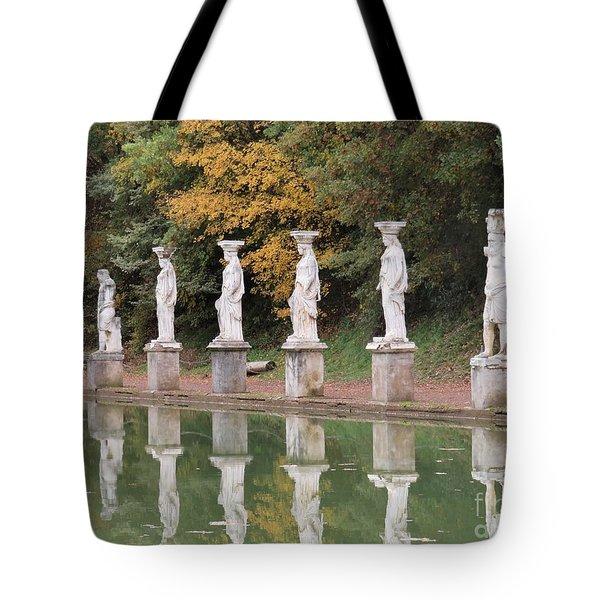 Hadrian's Villa 4 Tote Bag