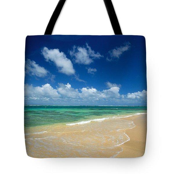 Haena Beach Tote Bag by Greg Vaughn - Printscapes