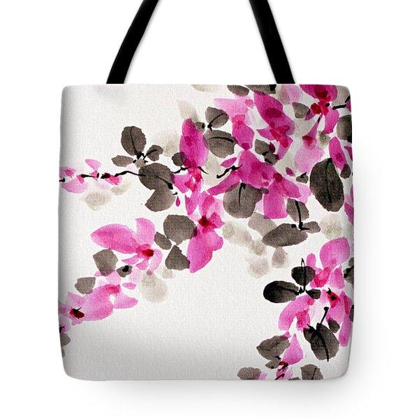 Hagi / Bush Clover Tote Bag