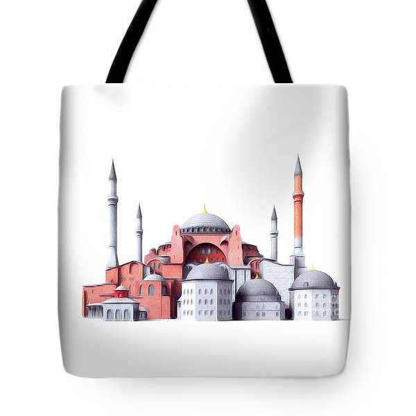 Hagia Sophia, Istanbul Tote Bag
