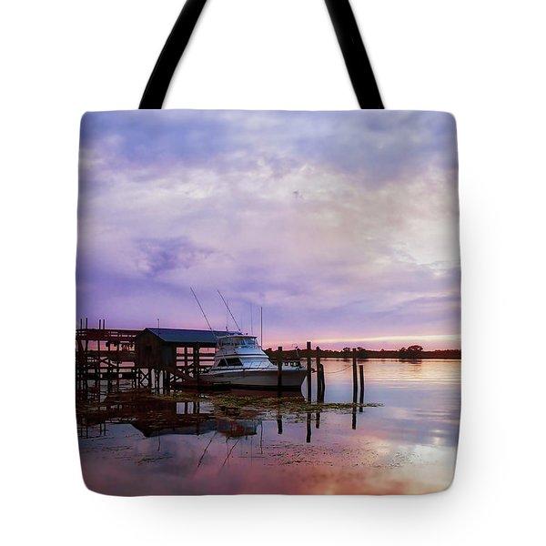 Hagley's Landing Tote Bag