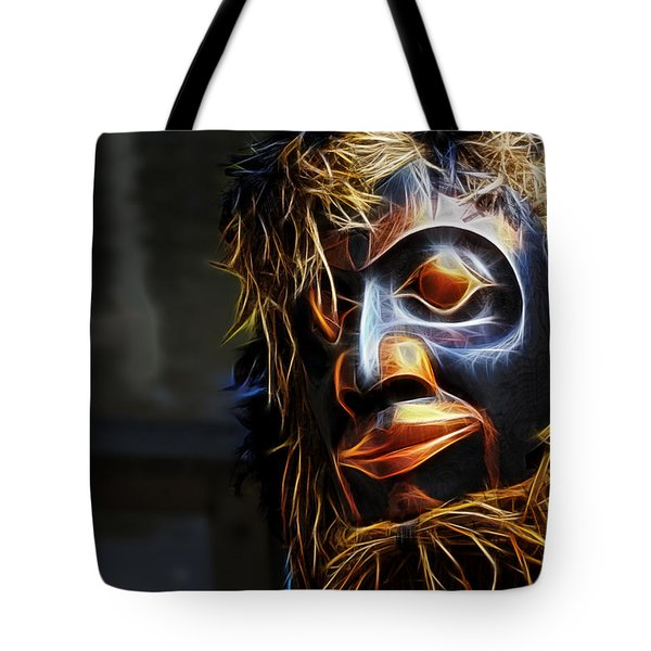 Haida Head Tote Bag