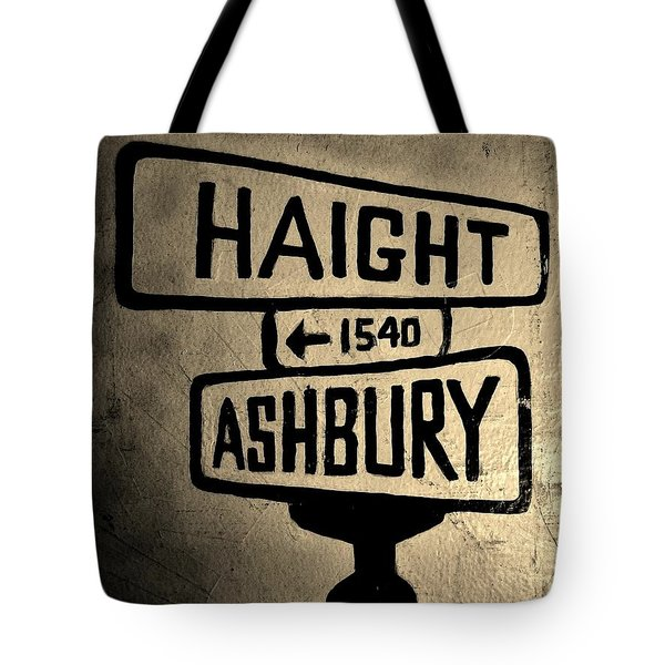 Haight Ashbury Tote Bag by Dany Lison
