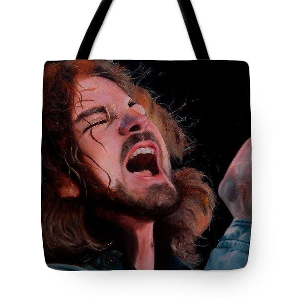 Hail Hail Tote Bag by Jena Rockwood