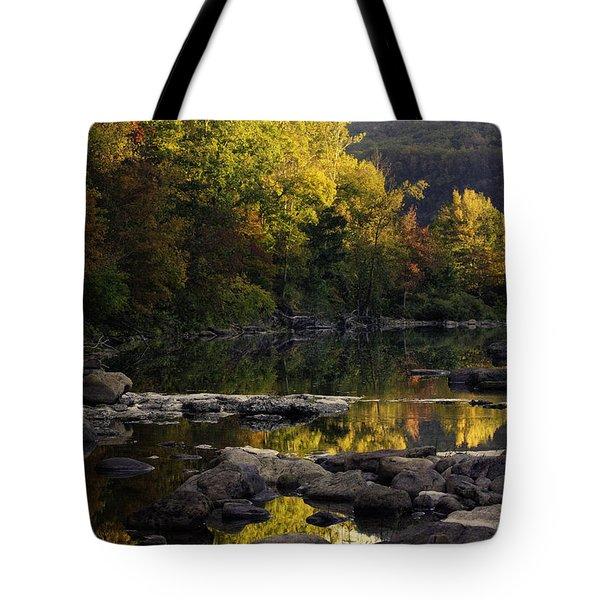 Hailstone Sunrise Fall Color 2012 Tote Bag