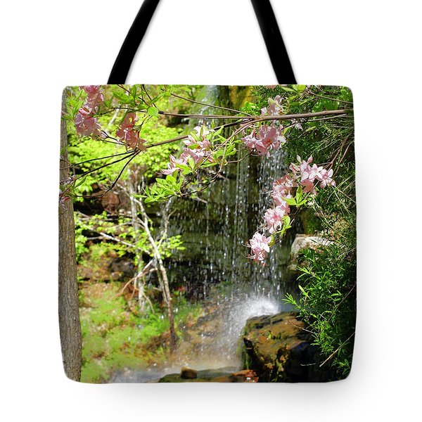 Haily Falls Tote Bag by Marty Koch