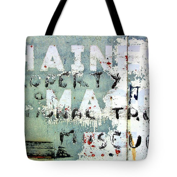 Haines Property Tote Bag