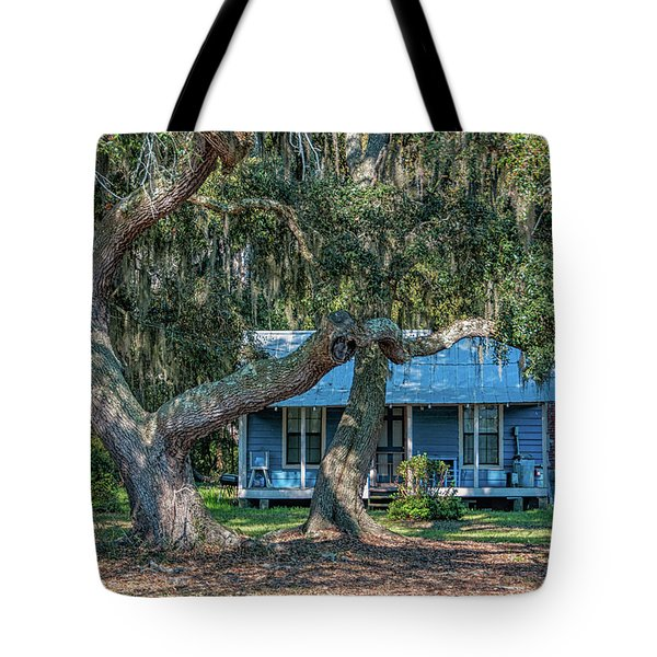 Haint Blue Tote Bag