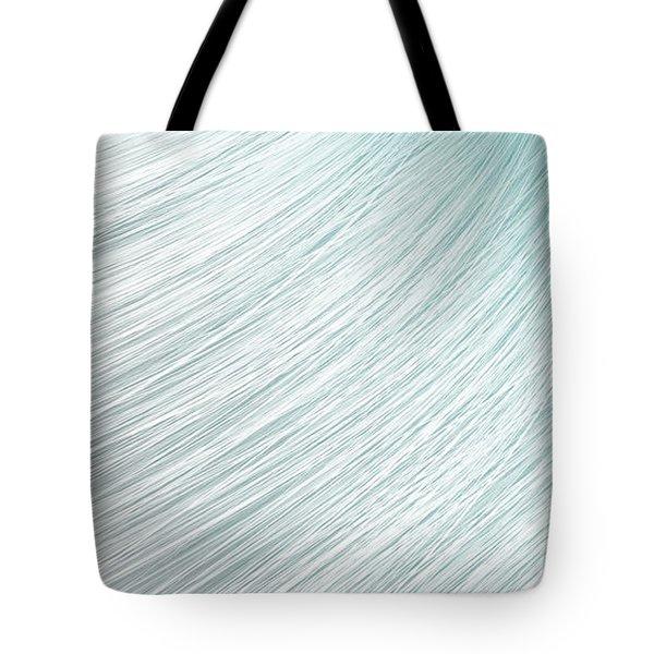 Hair Blowing Closeup Tote Bag