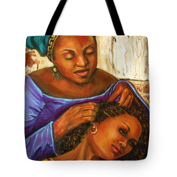 Hair Braiding Tote Bag