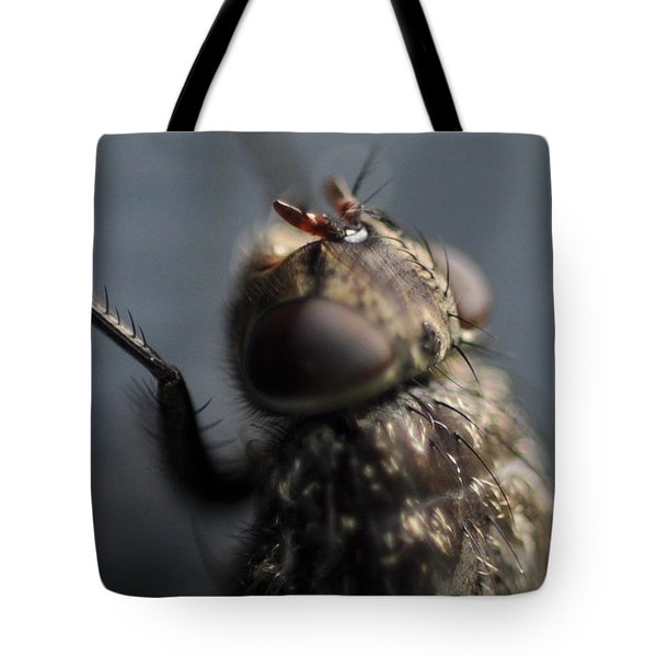Hair On A Fly Tote Bag by Glenn Gordon