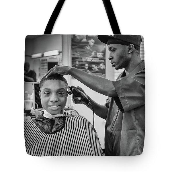 Haircut At Joe's Tote Bag