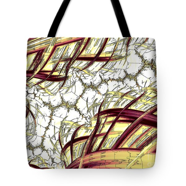 Hairline Fracture Tote Bag