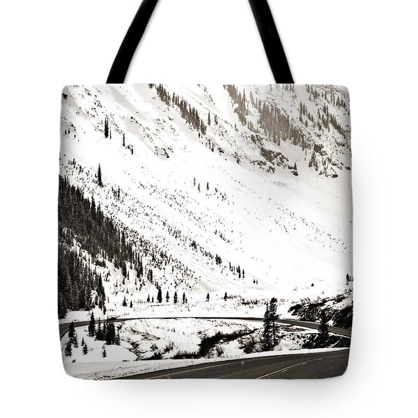 Hairpin Turn Tote Bag by Marilyn Hunt