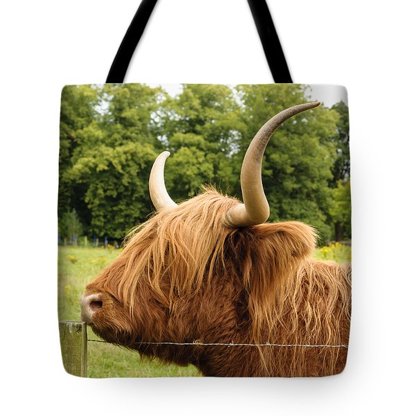 Tote Bag featuring the photograph Hairy by Christi Kraft