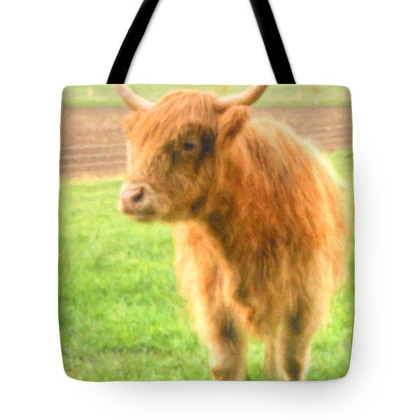 Tote Bag featuring the photograph Hairy Coos by Garvin Hunter