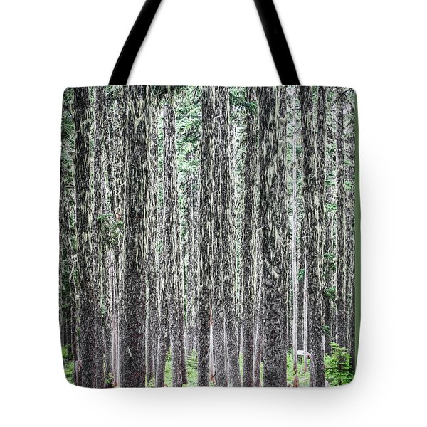 Hairy Forest Tote Bag