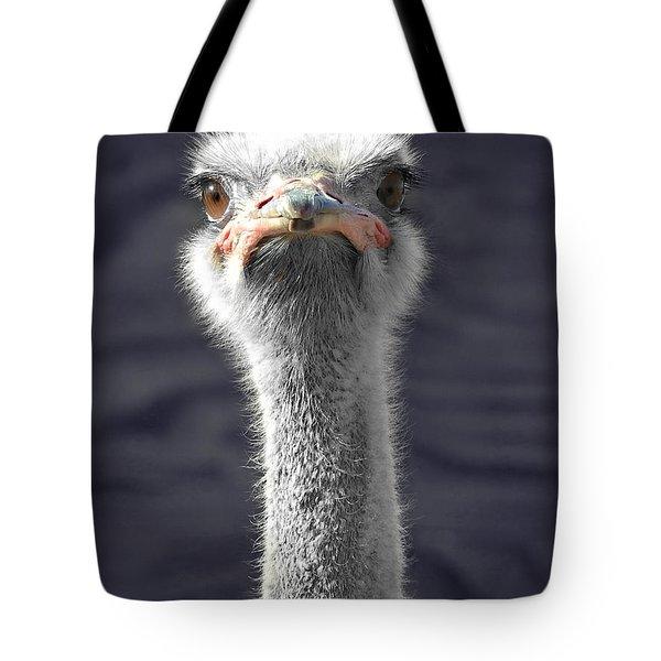 Hairy Fuzzball Tote Bag