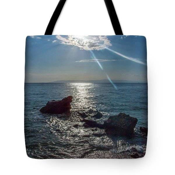 Haitian Beach In The Late Afternoon Tote Bag
