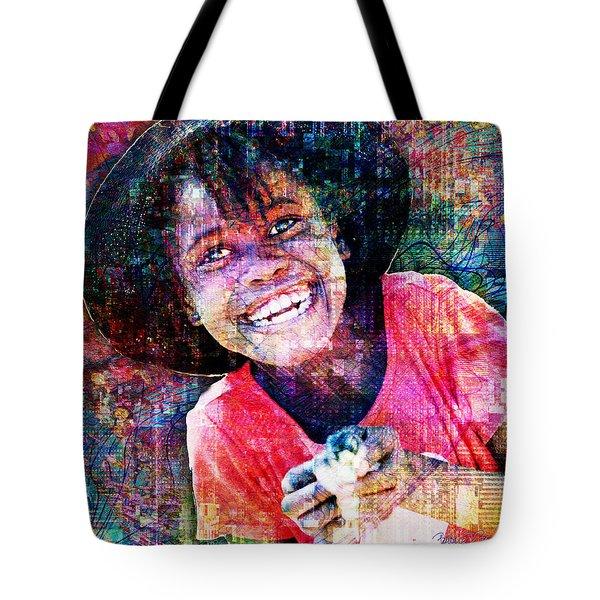 Haitian Daughter Tote Bag
