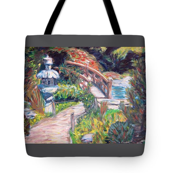 Hakone Tote Bag by Carolyn Donnell