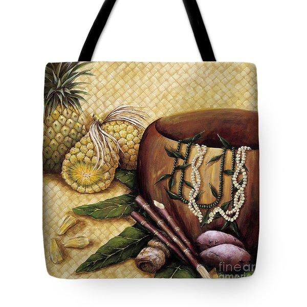 Hala Kahiki Tote Bag by Sandra Blazel - Printscapes