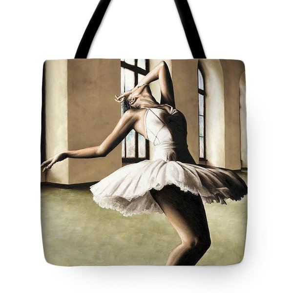 Halcyon Ballerina Tote Bag by Richard Young