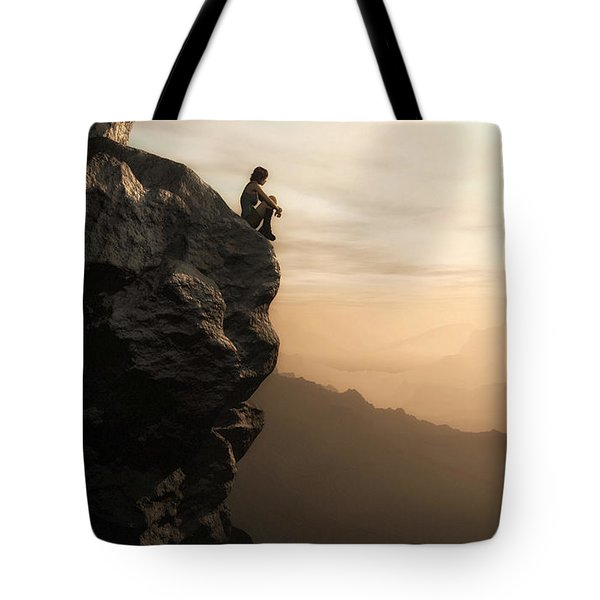 Halcyon Tote Bag by Cynthia Decker