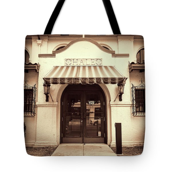 Tote Bag featuring the photograph Hale by Stephen Stookey