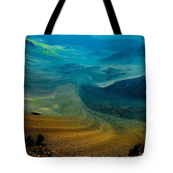 Tote Bag featuring the photograph Haleakala by M G Whittingham