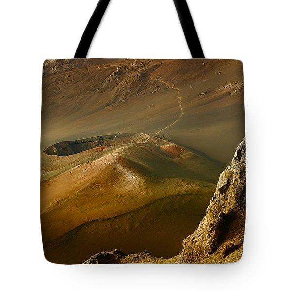 Haleakala Caldera Tote Bag